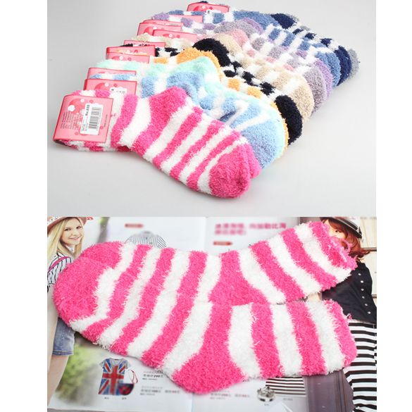 Cheap towel designs, Buy Quality socks rubber directly from China sock dance Suppliers:           Women Thickening Towel Floor Fashion Keep warm Base Sleep Socks New Free Size ALOM              &n