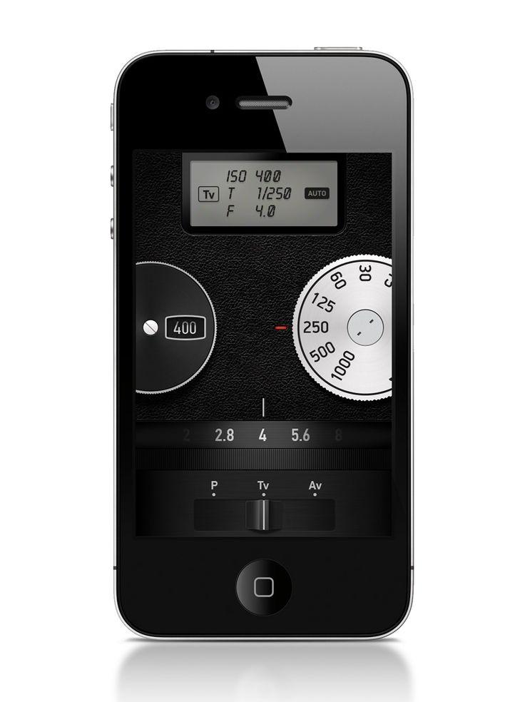 Mechanical Cam - 60's manual camera styled mobile app | Designer: Denis Barbeskumpe