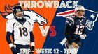 nice Before tonight's game - Broncos vs. Patriots (Wk 12, 2013) | Brady's 24-Point Comeback vs. Broncos