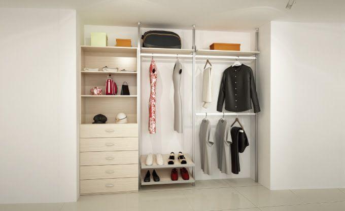 Closets y Vestidores Modulares, closets economicos, closets basicos