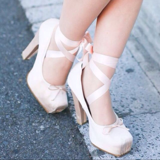 The ballet boot is a contemporary style of fetish footwear that merges the look of the pointe shoe with a high heel. The idea is to restrict the wearer's feet almost en pointe, like those of a ballerina, with the aid of long, slender heels.