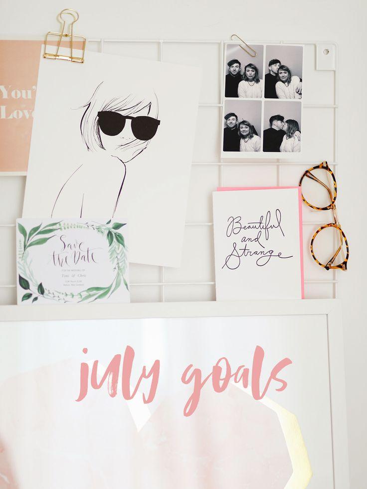 July Goals. http://www.katelavie.com/2017/07/july-goals-2.html