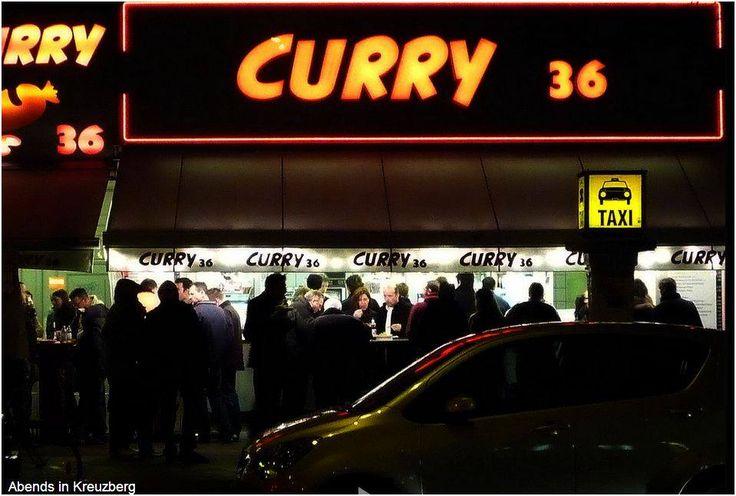 Berlins Beste! Curry 36, Mehringdamm, Kreuzberg. (In der Bergmannstraße gibt es auch noch eine klasse Curry-Bude)