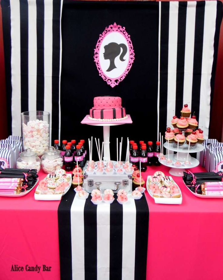 233 best Barbie Party Ideas images on Pinterest Barbie party