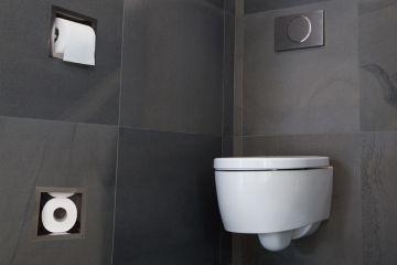 WC porte papier toilette avec une réserve de 5 rouleaux