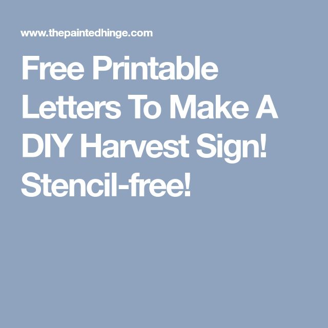 The 25+ best Printable letter stencils ideas on Pinterest Free - numbers templates free