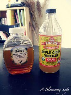 Natural Allergy Relief Drink 1 Tbs local honey 1 Tbs raw organic apple cider vinegar warm water Place honey and raw organic apple cider vine...