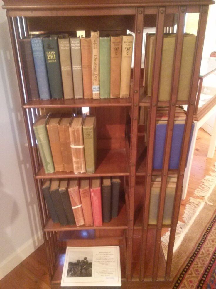 2014 photo: Novels of Joseph C. Lincoln. Lincoln's stories bring to life the people and the times of Chatham and Cape Cod during the last 19th and early 20th centuries. The books pictured here are part of the display in the Lincoln Room at Atwood House, Chatham, MA. These books also happen to be for sale through the Chatham Historical Society Gift Shop. #chatham, #capecod, #lincoln, #chathamhistoricalsociety, #atwoodhouse, #josephlincoln