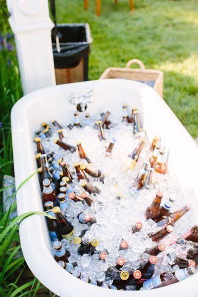 bathtub bar | Sam Stroud #wedding