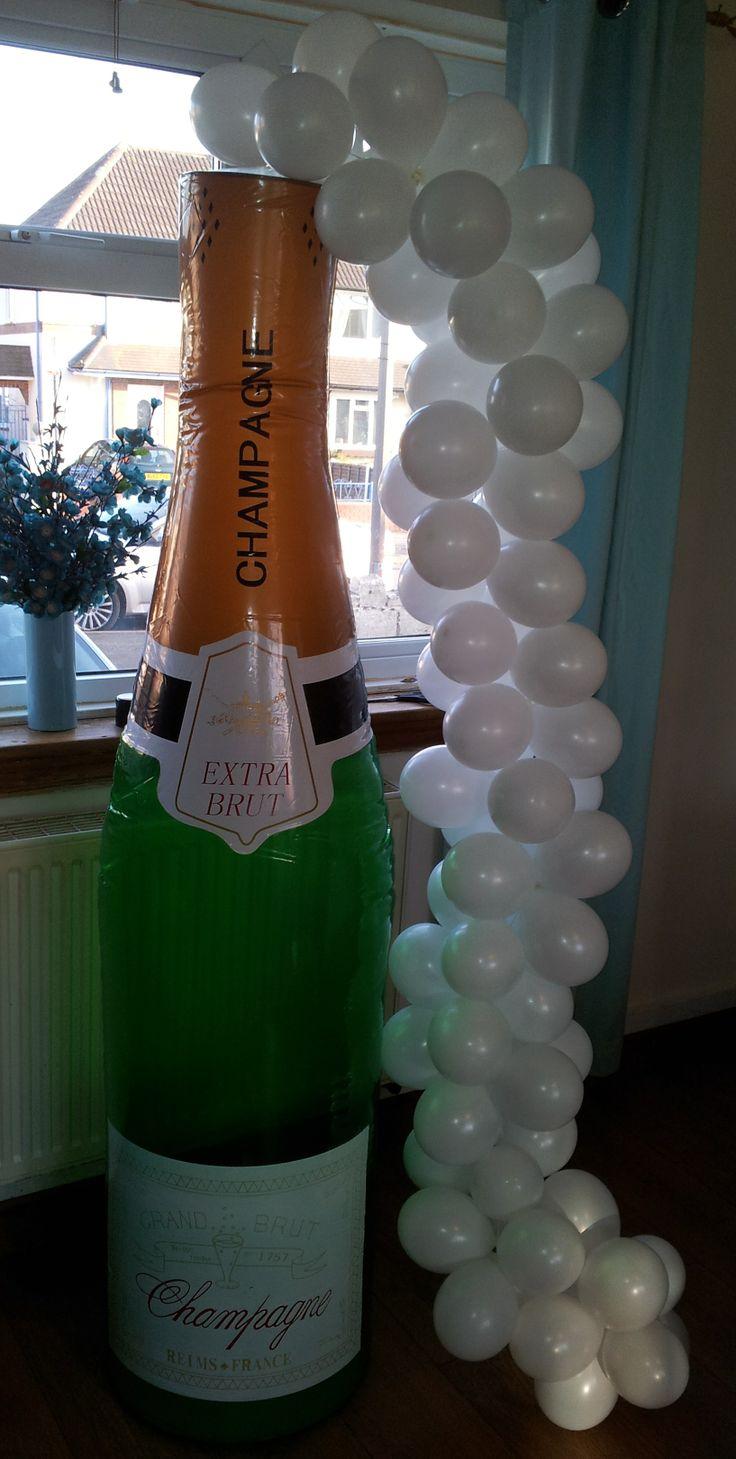 Baby Shower Decorations Milton Keynes ~ Best champagne bottle images on pinterest