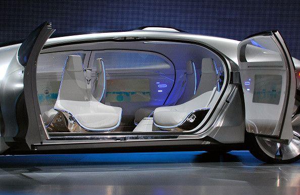 Mobil ini terlihat mewah dan berteknologi tinggi. (istimewa/detikcom/gettyimages)