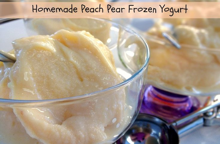 ... | Peach Ice Cream Recipe, Ice Cream Recipes and Homemade Ice Cream