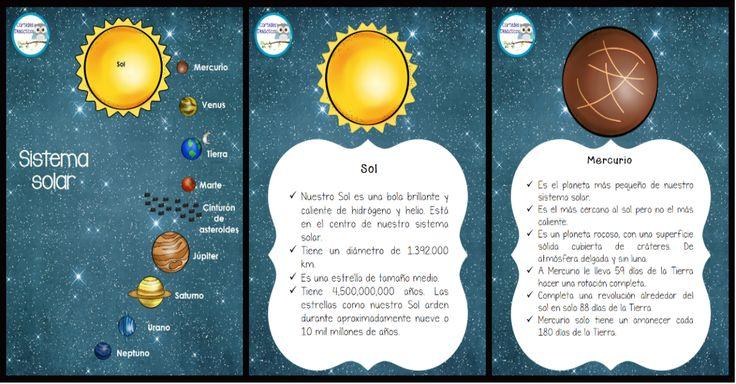 El sistema solar es el conjunto formado por el Sol y los ochos planetas con sus respectivos satélites que giran a su alrededor, también le acompañan en su desplazamiento por …