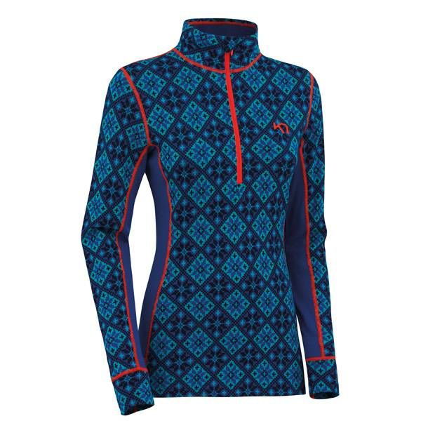 Rose H/Z thermoshirt dames blauw