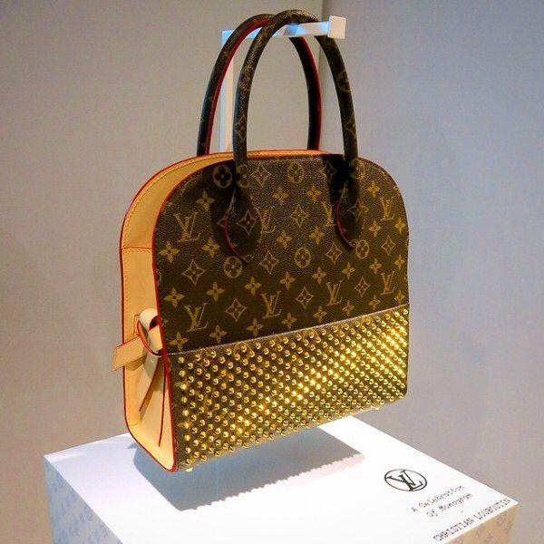 Louis Vuitton + Christian Louboutin -Great combination