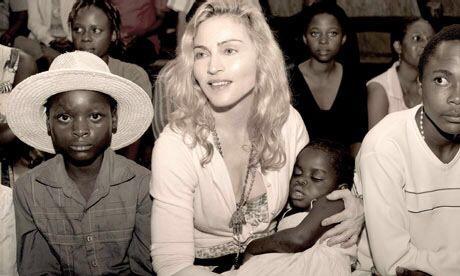 Madonna and Sepia - Martin Parr