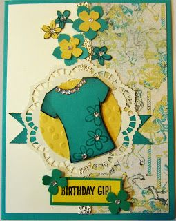 Crafty Maria's Stamping World: A Tee Shirt Birthday