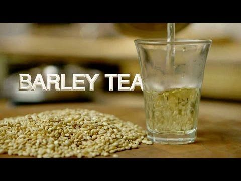 For this recipe, inspired by Japanese teas made from toasted grains, the barley is toasted right before brewing. This helps bring out the flavor of the freshly caramelized starch in the barley.