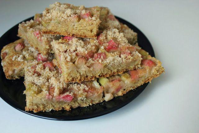 Dewii : Drobenkový koláč s rebarborou