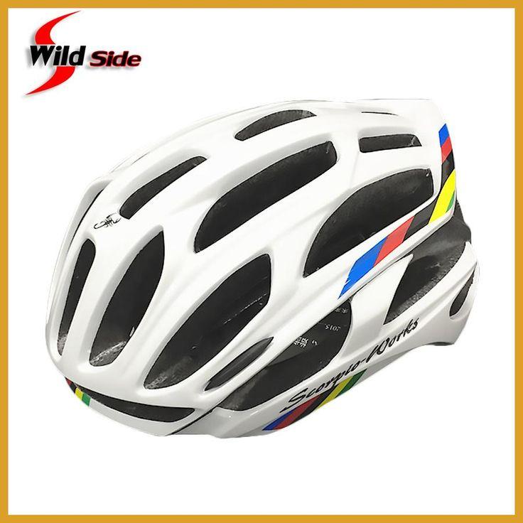 New Cycling Helmet Road MTB Bicycle Bike Ultralight Helmets 220g With LED Warning Lights Casco Ciclismo Bicicleta Bici 11 Colors