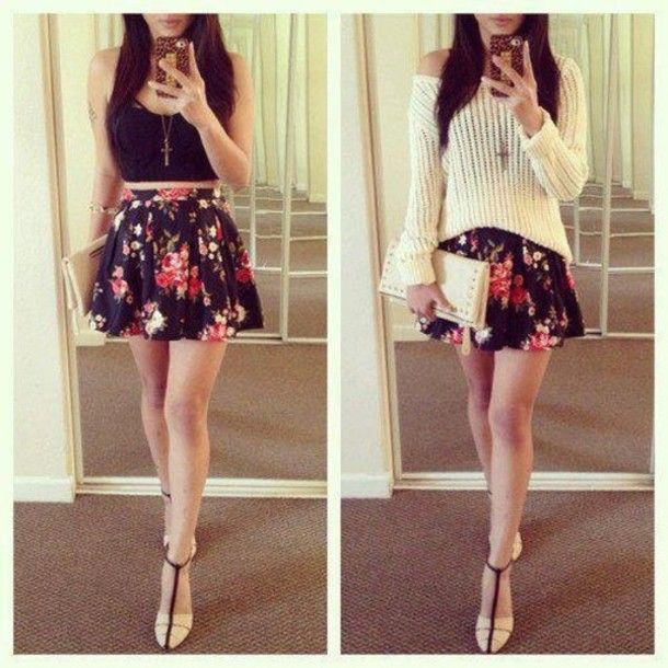 17 Best images about High Waisted Shorts & Skirts on Pinterest ...