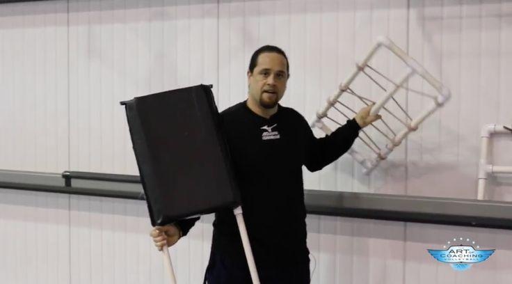 Volleyball equipment: DIY training tools