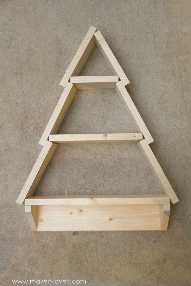 Pinterestte Ten Fazla Benzersiz Tree Shelf Fikri Raflar - Fallen branch is repurposed to create beautifully unconventional shelf
