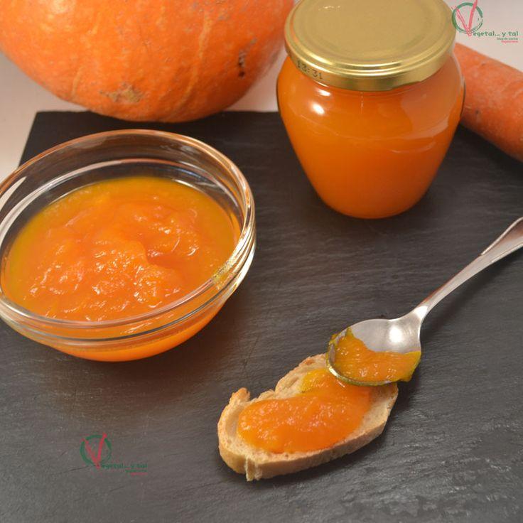 Mermelada de calabaza y zanahoria Thermomix