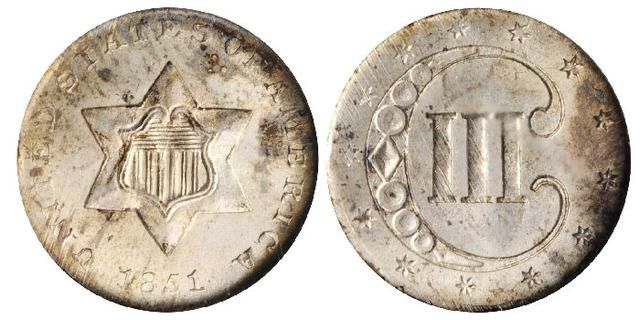 Three Cent Silver Coins Solving The
