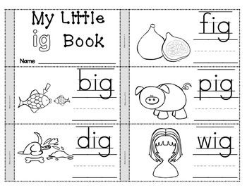 Ig Word Family Worksheets Free Worksheets Library | Download and ...
