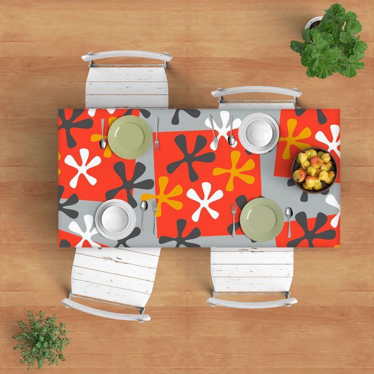 Scandinavian Tablecloth - Modern tablecloth