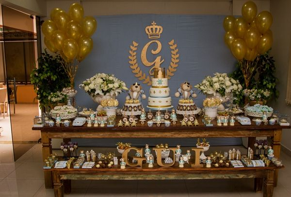 {Chá de Bebê} Uma festa de Rei | Casamenteiras
