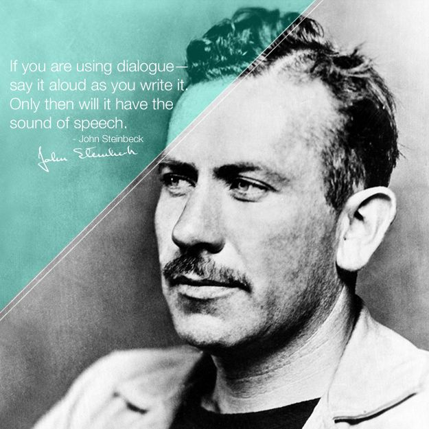 30 Indispensable Writing Tips From Famous Authors: John Steinbeck
