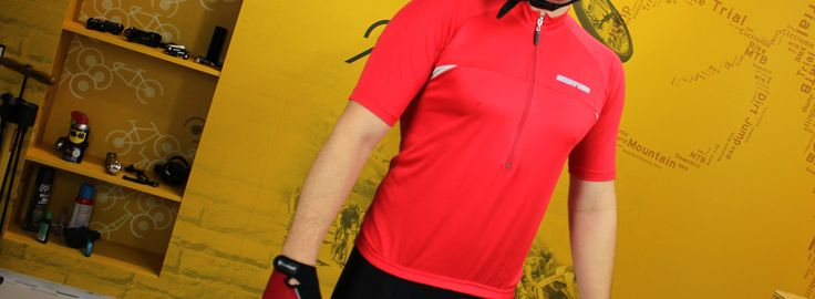 Camisa e bermuda - Roupa de ciclismo