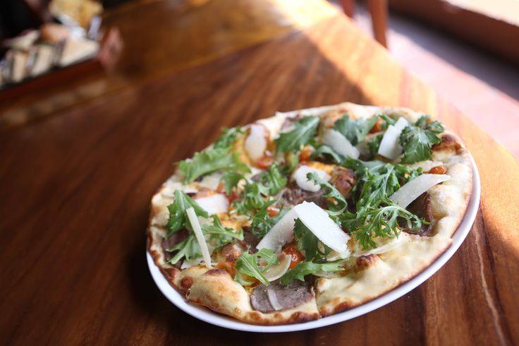 Carne de Lux Thin Crust Pizza by NEGEV