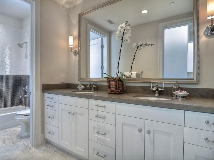 Master Bathroom Grey 39 best new master bathroom - white/gray images on pinterest