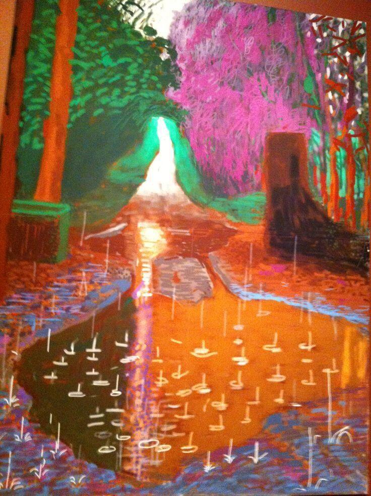 David Hockney iPad art