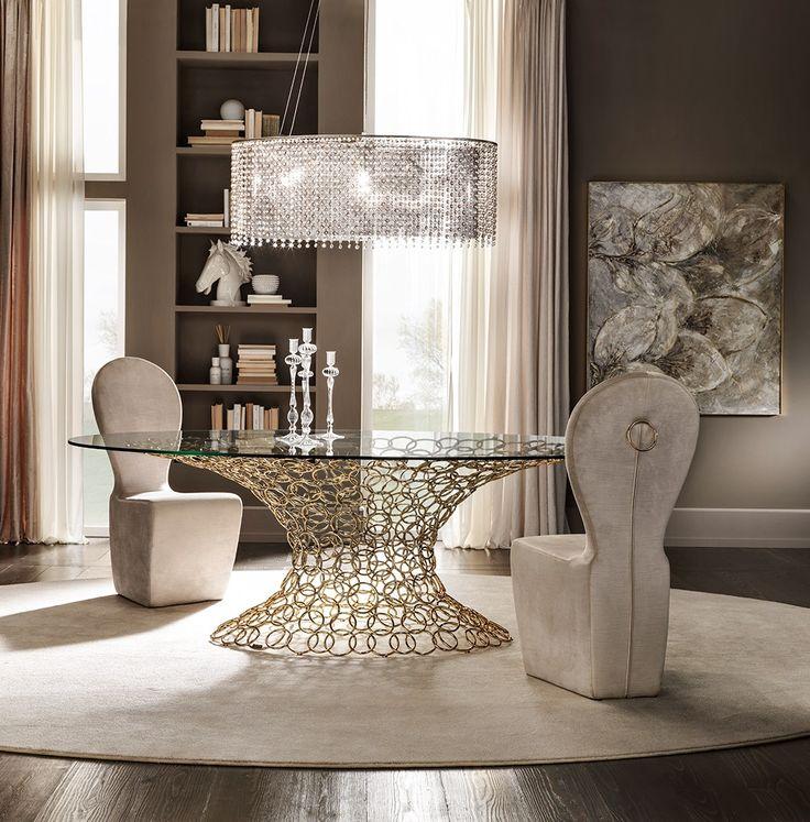 Mondrian table by Cantori