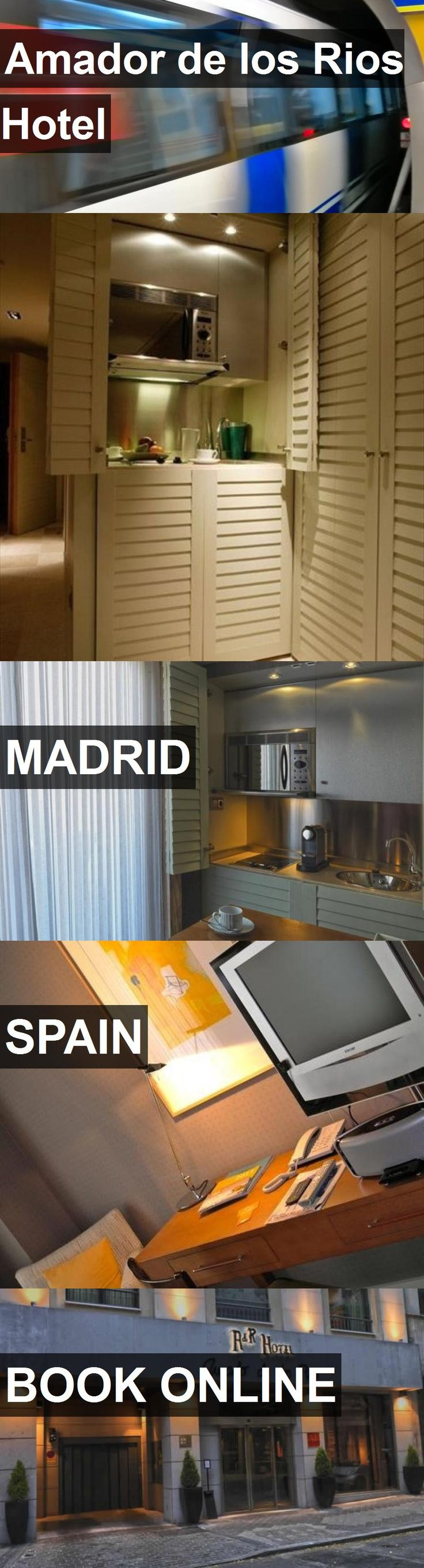 Hotel Amador de los Rios Hotel in Madrid, Spain. For more information, photos, reviews and best prices please follow the link. #Spain #Madrid #hotel #travel #vacation