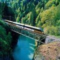 Svájcban felejthetetlen élmény a vonatozás