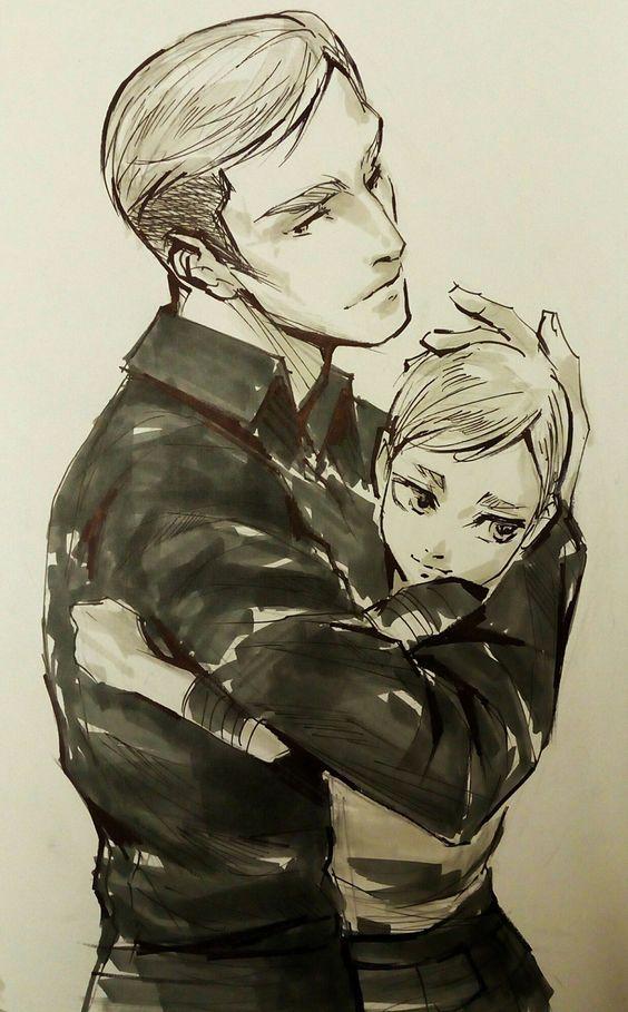 Erwin and Winn (Asuko and Erwin's kid) | Erwin | Attack on