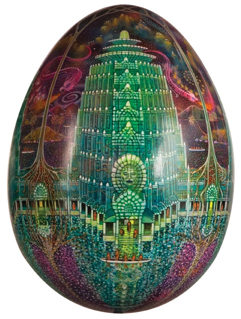 New faberge egg artist first works