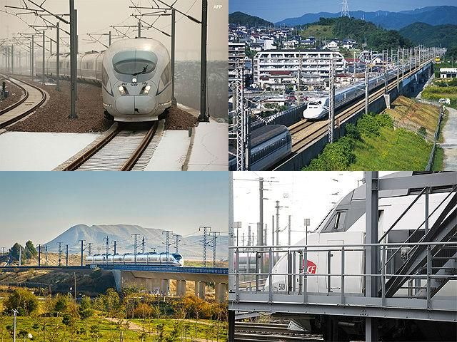 Slideshow : Five cool bullet trains - Five cool bullet train networks in the world   The Economic Times