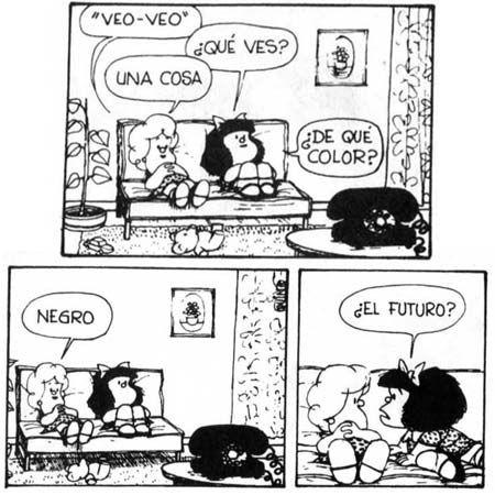 Frases De Mafalda | Veo, veo... - Las mejores frases de Mafalda