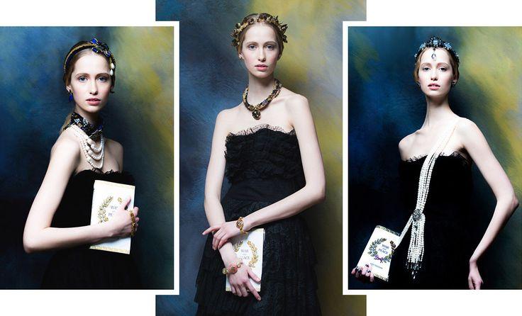 Десять лучших кадров из лукбука новой коллекции украшений Masterpeace