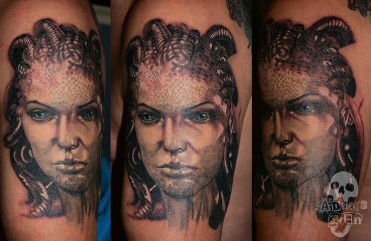 Adam Megens - Adam's Eden Tattoos   http://www.laceandcrosses.co.za/adam-megens-adam-edens-tattoos/