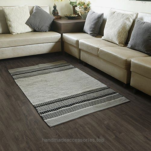 Store Indya 100% Cotton Handmade Rugs With an elegant tribal design in Grey Black Color for Kitchen, Livingroom, Entry Way, Laundry Room, and Bedroom (37″ x 60″)  Check It Out Now     $49.69      Namaste!!   We at India Ethnicity bring the real India to the world through handcrafted products that are cherish ..  http://www.handmadeaccessories.top/2017/03/18/store-indya-100-cotton-handmade-rugs-with-an-elegant-tribal-design-in-grey-black-color-for-kitchen-livingroom-entry-way-l..