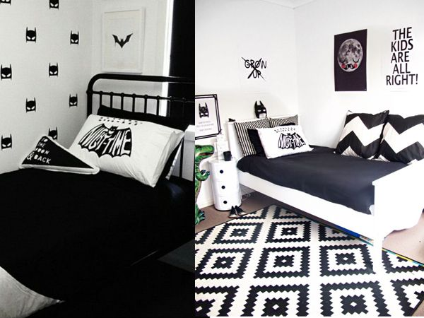 25 beste idee n over batman slaapkamer op pinterest batman kamer batman room decor en batman - Idee deco slaapkamer tiener jongen ...