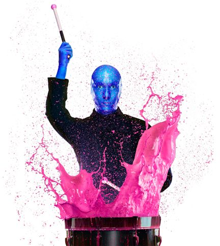 Blue Man Group - loud, thought provoking, body thumping - awesome!