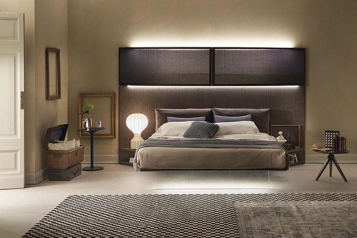 LED lighting for a modern bedroom